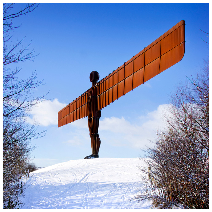 Angel of the North, Print 19 in Colour