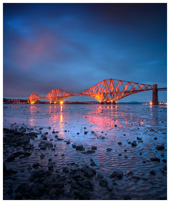 The Forth Rail Bridge, Print 53 in Colour
