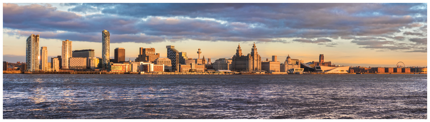 Liverpool Sunset Print