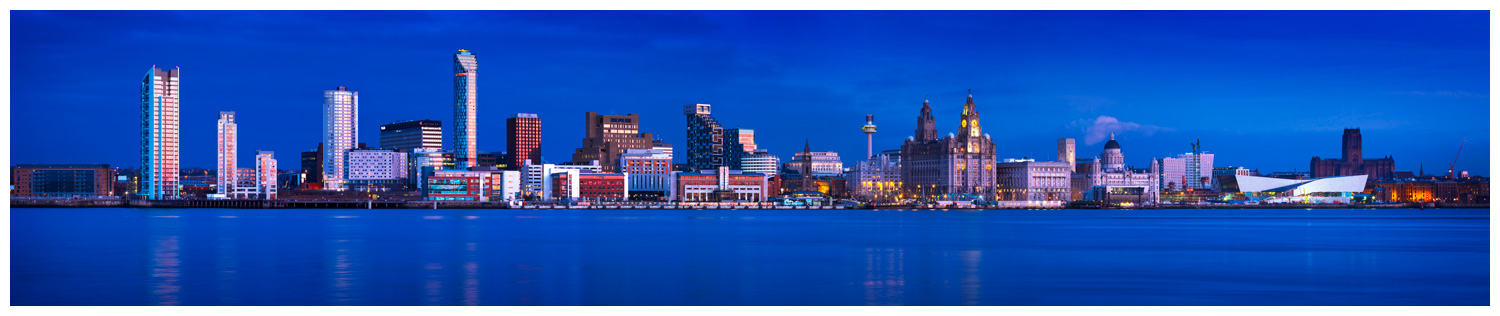 Liverpool Skyline, Print 09 in Colour